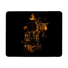 Skull Burning Digital Collage Illustration Samsung Galaxy Tab Pro 8 4  Flip Case
