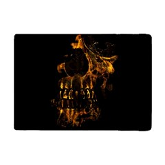 Skull Burning Digital Collage Illustration Apple iPad Mini 2 Flip Case