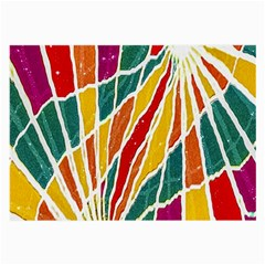 Multicolored Vibrations Glasses Cloth (Large, Two Sided)