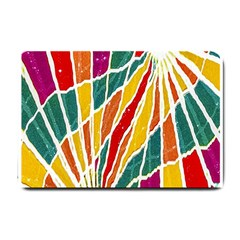 Multicolored Vibrations Small Door Mat