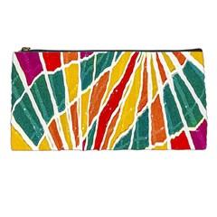 Multicolored Vibrations Pencil Case