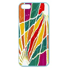 Multicolored Vibrations Apple Seamless Iphone 5 Case (color)