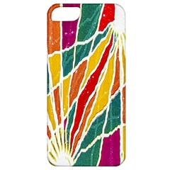 Multicolored Vibrations Apple Iphone 5 Classic Hardshell Case