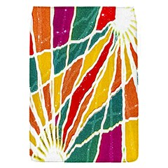 Multicolored Vibrations Removable Flap Cover (small)