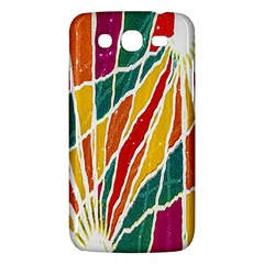 Multicolored Vibrations Samsung Galaxy Mega 5 8 I9152 Hardshell Case
