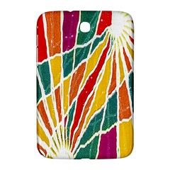 Multicolored Vibrations Samsung Galaxy Note 8 0 N5100 Hardshell Case