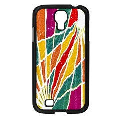 Multicolored Vibrations Samsung Galaxy S4 I9500/ I9505 Case (black)
