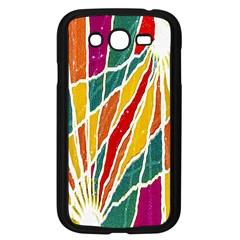 Multicolored Vibrations Samsung Galaxy Grand DUOS I9082 Case (Black)