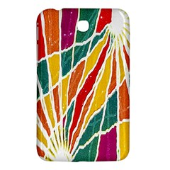 Multicolored Vibrations Samsung Galaxy Tab 3 (7 ) P3200 Hardshell Case