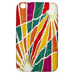 Multicolored Vibrations Samsung Galaxy Tab 3 (8 ) T3100 Hardshell Case