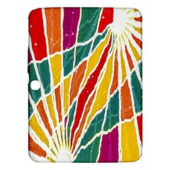 Multicolored Vibrations Samsung Galaxy Tab 3 (10 1 ) P5200 Hardshell Case