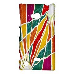 Multicolored Vibrations Nokia Lumia 720 Hardshell Case