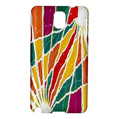 Multicolored Vibrations Samsung Galaxy Note 3 N9005 Hardshell Case