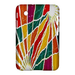 Multicolored Vibrations Samsung Galaxy Tab 2 (7 ) P3100 Hardshell Case