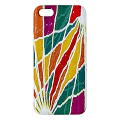 Multicolored Vibrations iPhone 5S Premium Hardshell Case