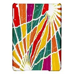 Multicolored Vibrations Apple iPad Air Hardshell Case