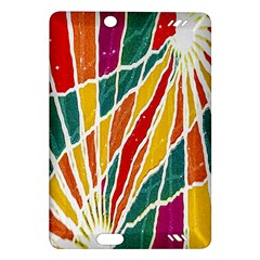 Multicolored Vibrations Kindle Fire HD 7  (2nd Gen) Hardshell Case