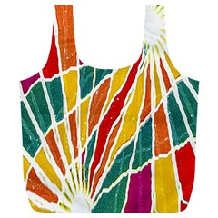 Multicolored Vibrations Reusable Bag (XL)