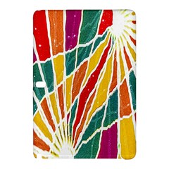 Multicolored Vibrations Samsung Galaxy Tab Pro 10.1 Hardshell Case