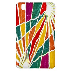 Multicolored Vibrations Samsung Galaxy Tab Pro 8 4 Hardshell Case