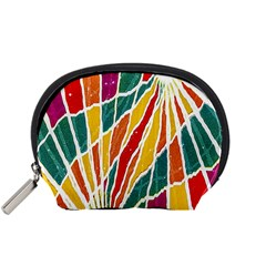 Multicolored Vibrations Accessory Pouch (Small)