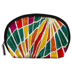 Multicolored Vibrations Accessory Pouch (Large)