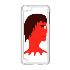 Monster with Men Head Illustration Apple iPod Touch 5 Case (White)