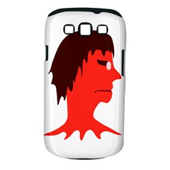 Monster With Men Head Illustration Samsung Galaxy S Iii Classic Hardshell Case (pc+silicone)