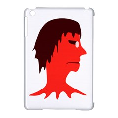 Monster with Men Head Illustration Apple iPad Mini Hardshell Case (Compatible with Smart Cover)