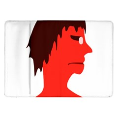 Monster With Men Head Illustration Samsung Galaxy Tab 10 1  P7500 Flip Case