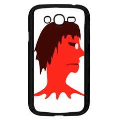 Monster with Men Head Illustration Samsung Galaxy Grand DUOS I9082 Case (Black)