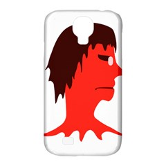 Monster With Men Head Illustration Samsung Galaxy S4 Classic Hardshell Case (pc+silicone)