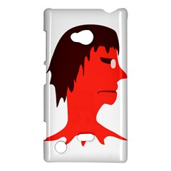 Monster with Men Head Illustration Nokia Lumia 720 Hardshell Case