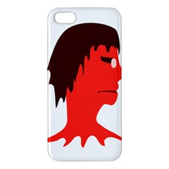Monster With Men Head Illustration Iphone 5s Premium Hardshell Case