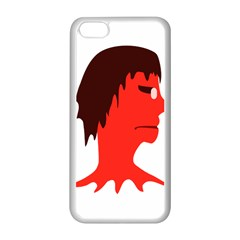 Monster With Men Head Illustration Apple Iphone 5c Seamless Case (white)