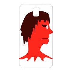 Monster With Men Head Illustration Samsung Galaxy Note 3 N9005 Hardshell Back Case