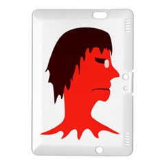 Monster With Men Head Illustration Kindle Fire Hdx 8 9  Hardshell Case