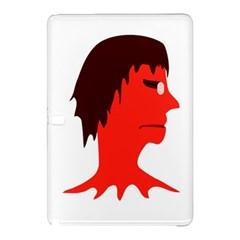 Monster With Men Head Illustration Samsung Galaxy Tab Pro 10 1 Hardshell Case