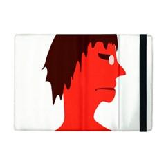 Monster with Men Head Illustration Apple iPad Mini 2 Flip Case