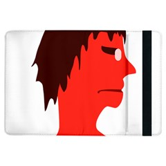 Monster with Men Head Illustration Apple iPad Air Flip Case
