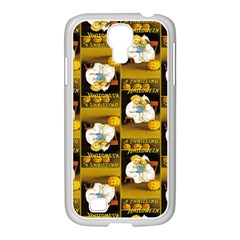 A Thrilling Halloween Samsung GALAXY S4 I9500/ I9505 Case (White)