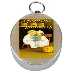 A Thrilling Halloween Silver Compass
