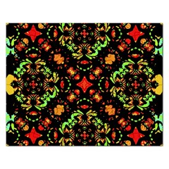 Intense Floral Refined Art Print Jigsaw Puzzle (rectangle)