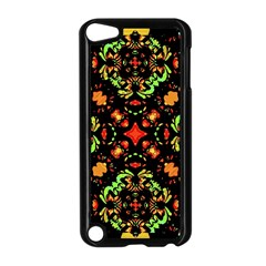 Intense Floral Refined Art Print Apple iPod Touch 5 Case (Black)