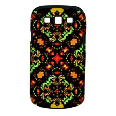 Intense Floral Refined Art Print Samsung Galaxy S III Classic Hardshell Case (PC+Silicone)