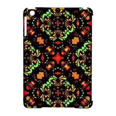 Intense Floral Refined Art Print Apple iPad Mini Hardshell Case (Compatible with Smart Cover)