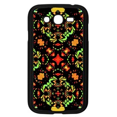 Intense Floral Refined Art Print Samsung Galaxy Grand DUOS I9082 Case (Black)