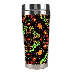 Intense Floral Refined Art Print Stainless Steel Travel Tumbler