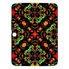 Intense Floral Refined Art Print Samsung Galaxy Tab 3 (10.1 ) P5200 Hardshell Case