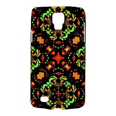Intense Floral Refined Art Print Samsung Galaxy S4 Active (i9295) Hardshell Case